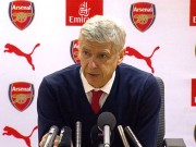 Bóng đá - Bị phóng viên chất vấn trình độ, Wenger nổi đóa