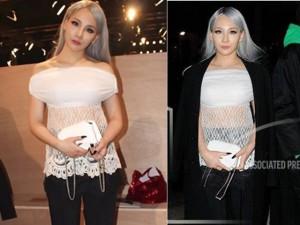 """Thủ lĩnh"" 2NE1 xuất hiện ngoan hiền tại Paris FW"
