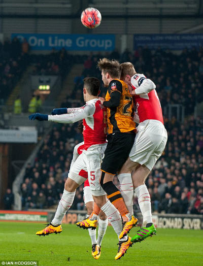 "Chi tiết Hull - Arsenal: Walcott ""chốt hạ"" (KT) - 3"