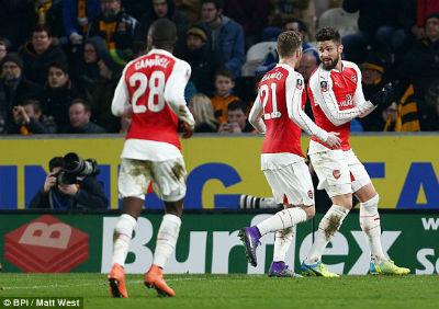 "Chi tiết Hull - Arsenal: Walcott ""chốt hạ"" (KT) - 4"