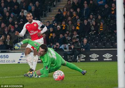 "Chi tiết Hull - Arsenal: Walcott ""chốt hạ"" (KT) - 6"