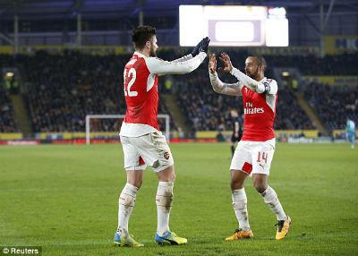 "Chi tiết Hull - Arsenal: Walcott ""chốt hạ"" (KT) - 5"