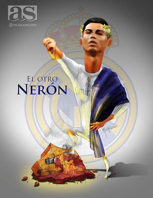 Hủy diệt Roma, Ronaldo được ví như hoàng đế La Mã - 2