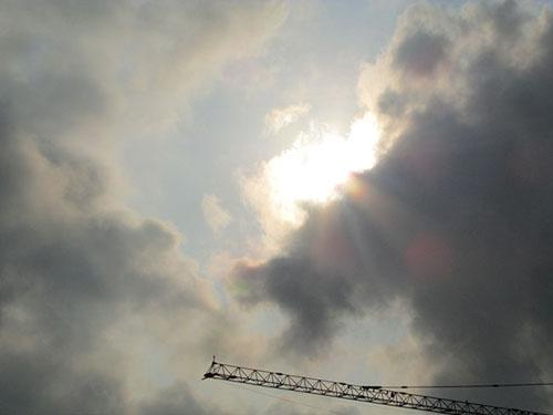 Ảnh: Khoảnh khắc nhật thực cực đại ở Sài Gòn - 3