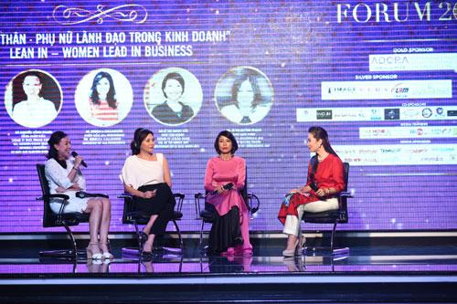 Thu Hương tổ chức thành công Diễn đàn Nữ lãnh đạo quốc tế 2016 - 2