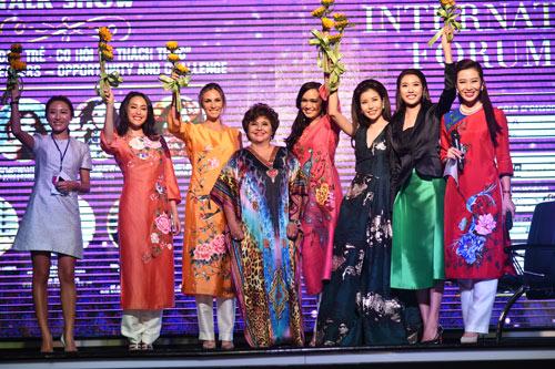 Thu Hương tổ chức thành công Diễn đàn Nữ lãnh đạo quốc tế 2016 - 4