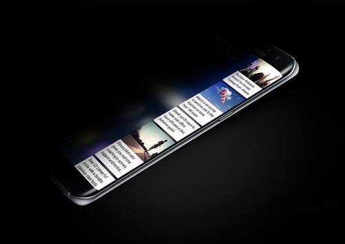 Cận cảnh màn hình cong Edge UX đỉnh cao của Galaxy S7 edge - 6