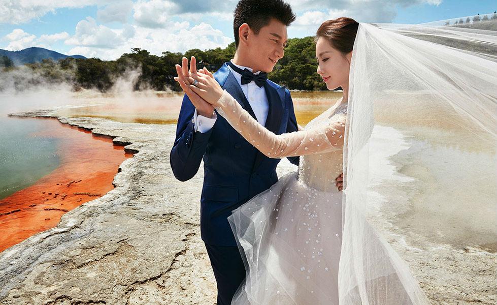 Trọn bộ ảnh cưới như mơ của Ngô Kỳ Long – Lưu Thi Thi - 1