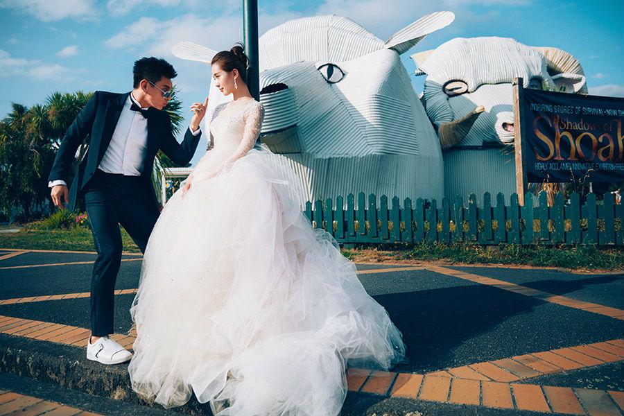 Trọn bộ ảnh cưới như mơ của Ngô Kỳ Long – Lưu Thi Thi - 4