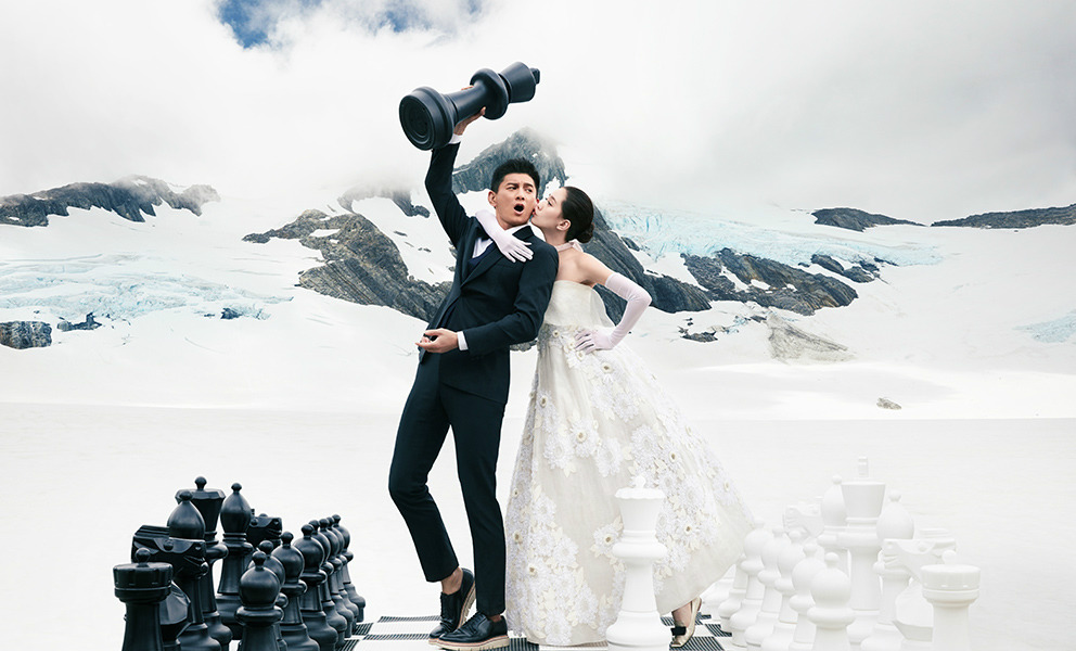 Trọn bộ ảnh cưới như mơ của Ngô Kỳ Long – Lưu Thi Thi - 5