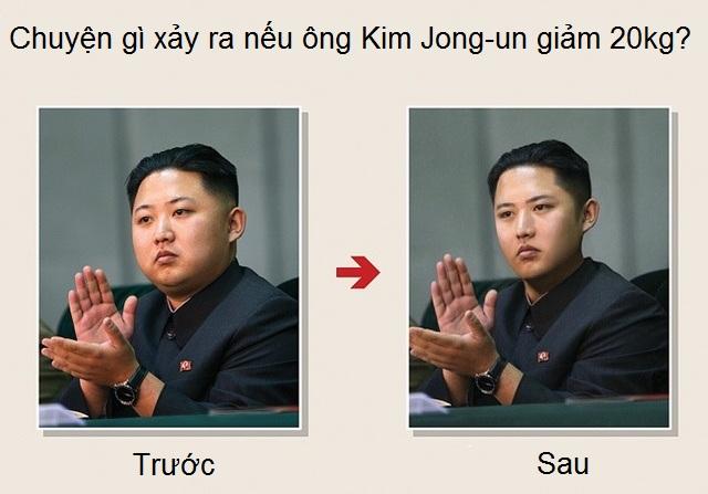 HQ sốt ảnh Kim Jong-un đẹp trai khi giảm 20kg - 1