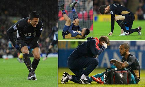 """Arsenal và """"bệnh"""" chấn thương: Lỗi tại Wenger - 3"""