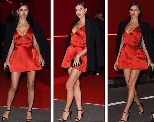 Irina Shayk đẹp quyến rũ và rực rỡ bên người tình - 3