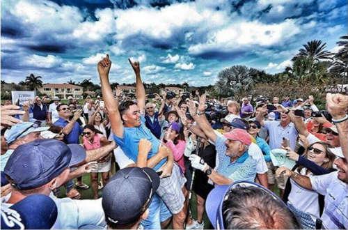 Đánh thắng giải 1 triệu đô, tay golf mang làm từ thiện - 1