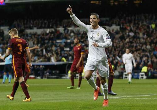 Thắng dễ Roma, Real vẫn khó có cửa vô địch cúp C1 - 2