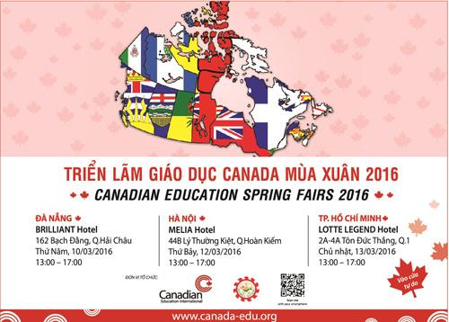 Du học Canada - Triển lãm giáo dục Canada mùa xuân 2016 - 4