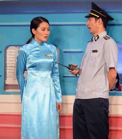 """Huy Khánh cộc cằn, khó chịu với vai trưởng tàu """"đểu"""" - 1"""