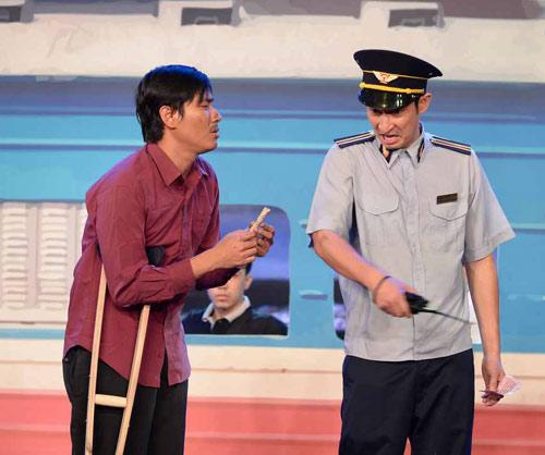 """Huy Khánh cộc cằn, khó chịu với vai trưởng tàu """"đểu"""" - 6"""