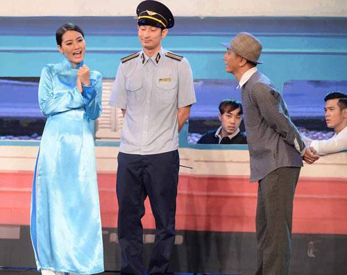"""Huy Khánh cộc cằn, khó chịu với vai trưởng tàu """"đểu"""" - 4"""