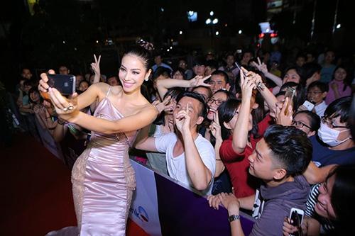 Hot makeup: Kiểu trang điểm Tây của hoa hậu Phạm Hương - 9