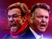 Bóng đá - Klopp đấu trí Van Gaal: Xứng danh kình địch
