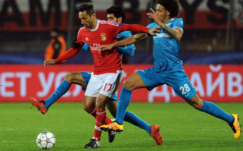 Video Zenit vs Benfica - 1