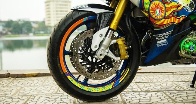 Bản độ & nbsp;Yamaha Exciter 150 thay đổi toàn diện so với nguyên mẫu.