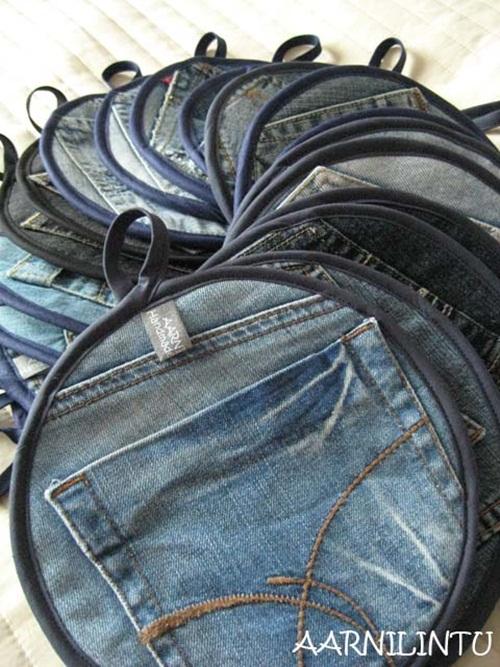 Thêm 4 cách tái chế quần jeans cũ thành thứ có ích - 5