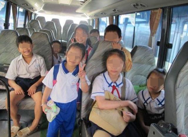 Thót tim tìm kiếm 4 bé gái lên xe bus rồi thất lạc - 2