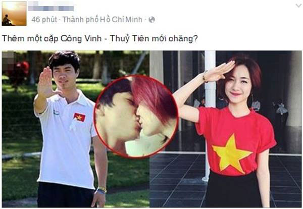 Sóng gió như mỹ nhân yêu cầu thủ Việt - 2