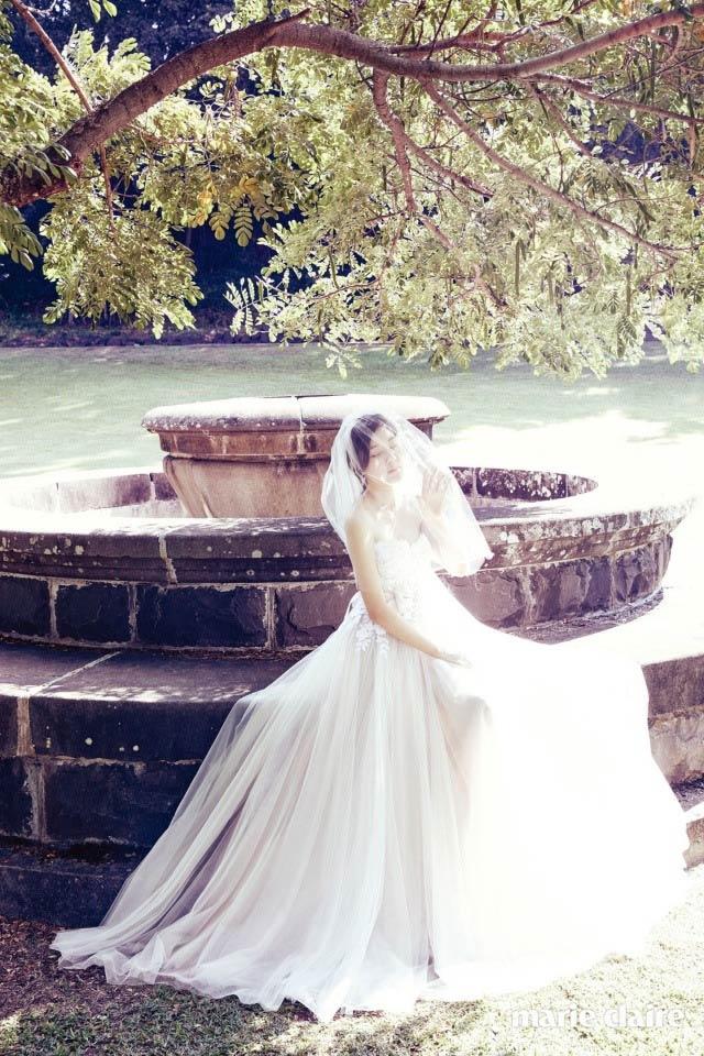 Kim Ha Neul quá trẻ đẹp so với tuổi 38 trong ảnh cưới - 4