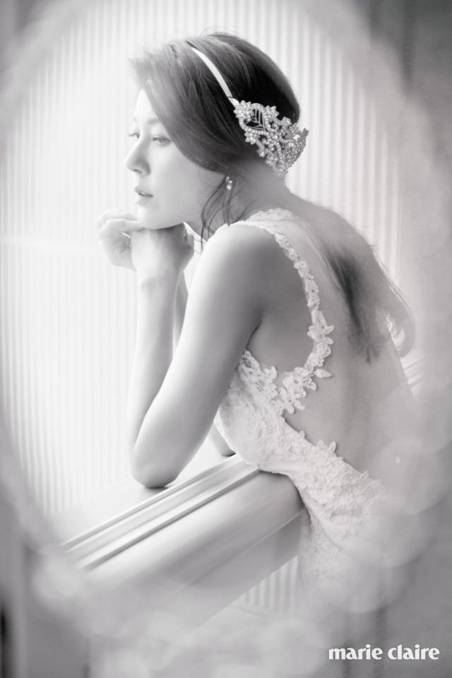 Kim Ha Neul quá trẻ đẹp so với tuổi 38 trong ảnh cưới - 2
