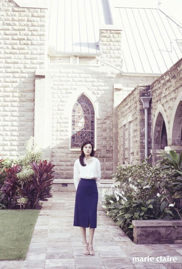 Kim Ha Neul quá trẻ đẹp so với tuổi 38 trong ảnh cưới - 13