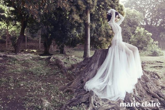 Kim Ha Neul quá trẻ đẹp so với tuổi 38 trong ảnh cưới - 6