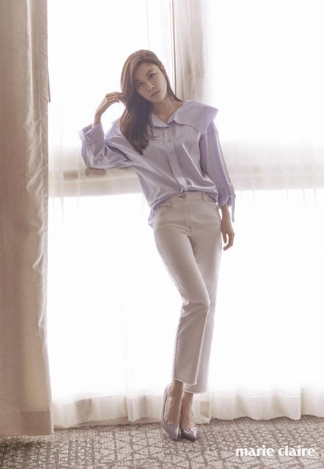 Kim Ha Neul quá trẻ đẹp so với tuổi 38 trong ảnh cưới - 10