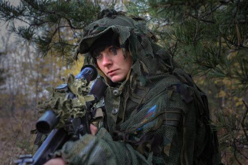 Ảnh: Những bóng hồng của lực lượng lính dù Nga - 3