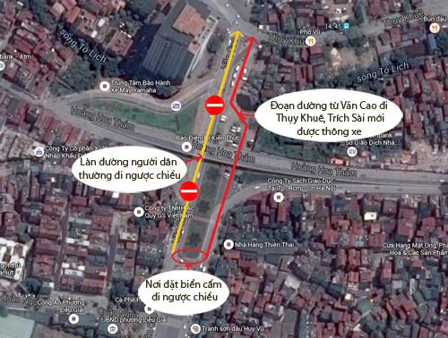 HN: Đường mới thông bỏ không, dân vô tư đi ngược chiều - 11