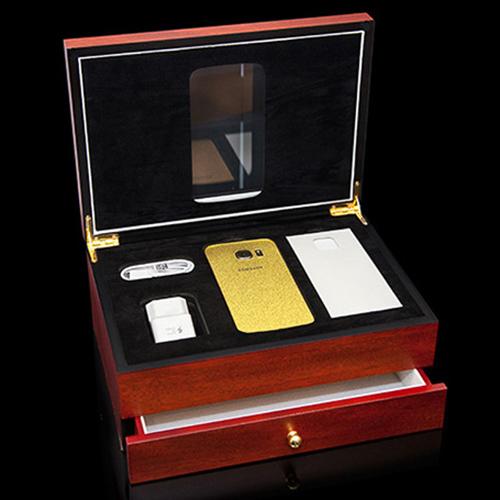 Samsung Galaxy S7 mạ vàng 24 karat lấp lánh - 3