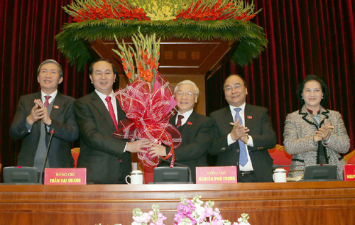 Giới thiệu nhân sự Chủ tịch nước, Thủ tướng, Chủ tịch Quốc hội - 2