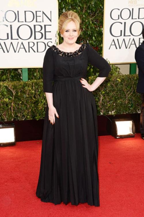 """Học """"họa mi nước Anh"""" Adele chọn váy cho nàng béo - 1"""