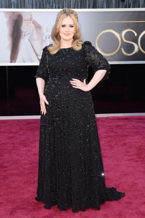 """Học """"họa mi nước Anh"""" Adele chọn váy cho nàng béo - 2"""