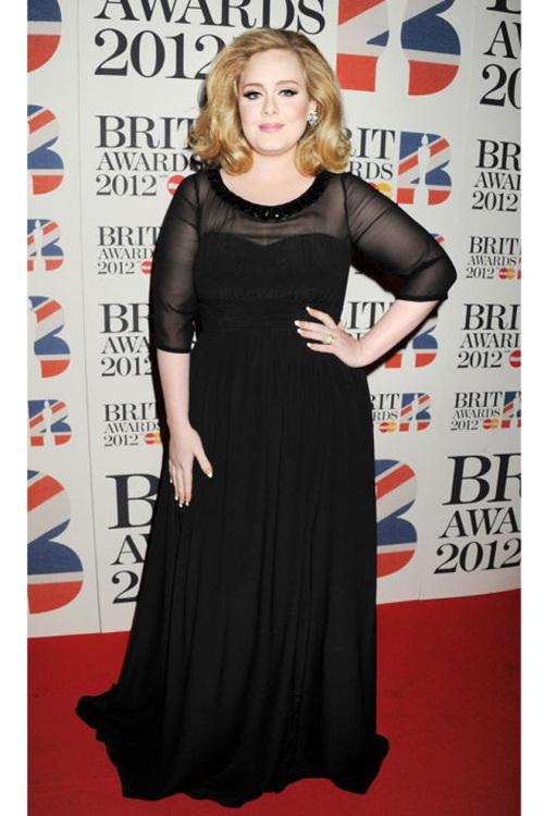 """Học """"họa mi nước Anh"""" Adele chọn váy cho nàng béo - 3"""