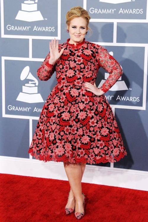 """Học """"họa mi nước Anh"""" Adele chọn váy cho nàng béo - 5"""