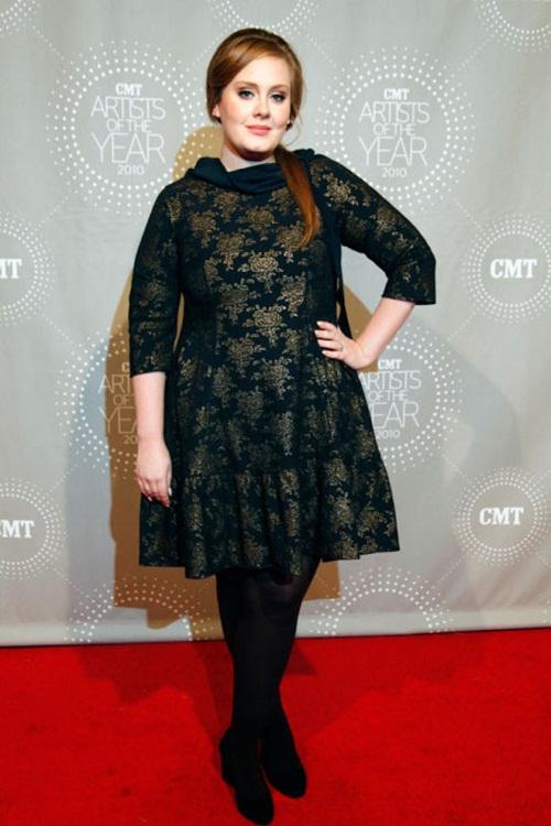 """Học """"họa mi nước Anh"""" Adele chọn váy cho nàng béo - 12"""