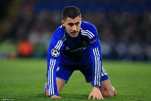 Mất cúp C1, Chelsea có thể mất luôn top 4 và Hazard - 1