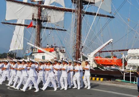 Hải quân VN đưa tàu buồm hiện đại nhất TG vào sử dụng - 5