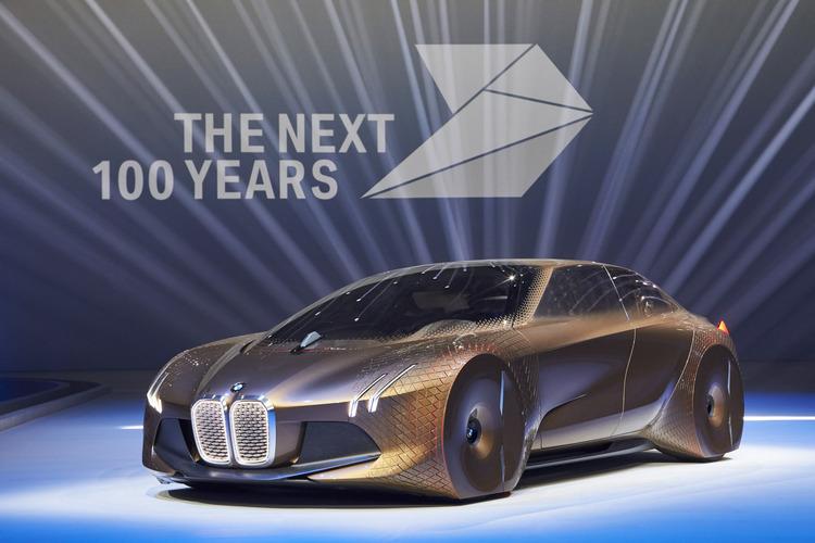 """BMW Vision Next 100 Concept: """"Siêu xe đến từ tương lai"""" - 1"""