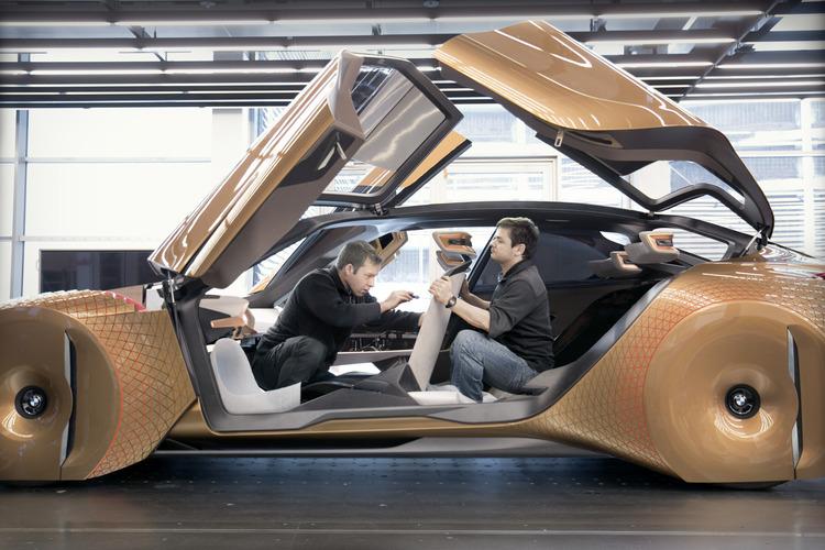 """BMW Vision Next 100 Concept: """"Siêu xe đến từ tương lai"""" - 2"""