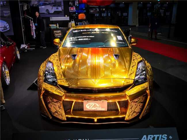 """Ngắm """"Nữ thần vàng"""" Nissan R35 GT-R - 1"""