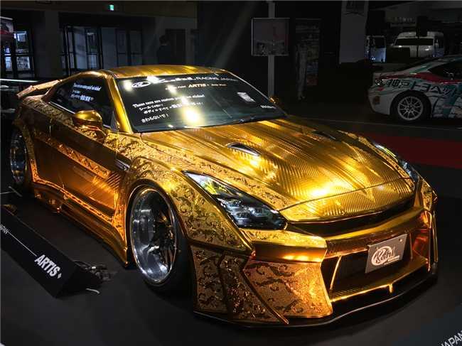 """Ngắm """"Nữ thần vàng"""" Nissan R35 GT-R - 2"""